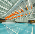 Henderson Hopkins School Gym. Flux Studios